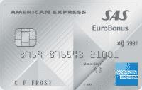 En bild på kreditkortet SAS Amex premium. Ett av dom bättre korten för travel hacking.