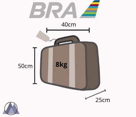 bra American airlines handbagage vikt och mått