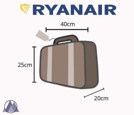 väska handbagage mått
