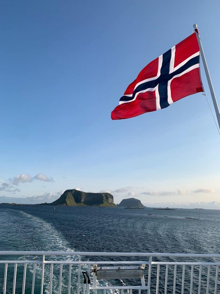 Färja från Bodø till Værøy