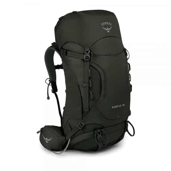 Vandringsryggsäcken Osprey Kestrel 38, en riktigt bra ryggsäck för vandring.