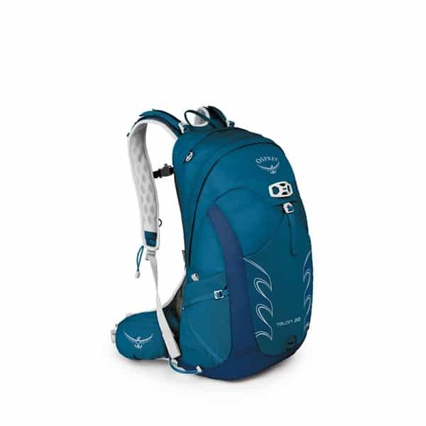 Ryggsäcken Osprey talon 22, en av de bästa vandringsryggsäckarna på 20 liter