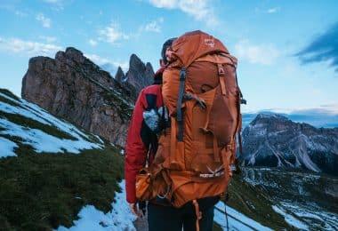 Osprey Aether vandringsryggsäck, en av de bästa vandringsryggsäckarna